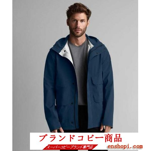 【CANADA goose スーパーコピー】新作 MEAFORD JACKET BLACK LABEL (Deep Ocean)