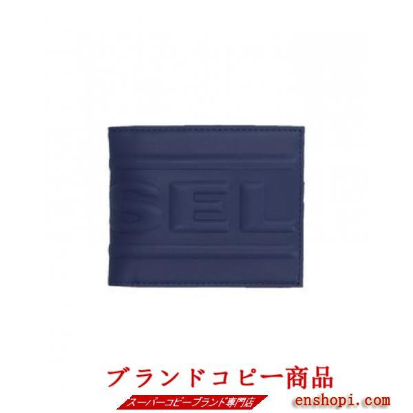 ■diesel スーパーコピー■メンズ エンボス加工二つ折りウォレット■-2