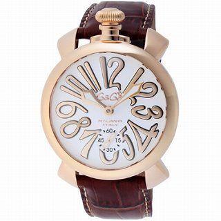 GAGA MIOLANO ガガ 腕時計 MANUALE 48MM5011.08S-BRW-3