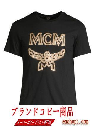 送料込み★mcm コピー ロゴTシャツ-3