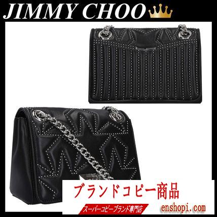 JIMMY choo スーパーコピー HELIA S SHOULDER BAG IN QUILTED NAPPA-3
