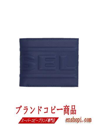 ■diesel スーパーコピー■メンズ エンボス加工二つ折りウォレット■-3