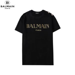 半袖Tシャツ2色可選  確定となる上品 バルマン BALMAIN 20SSトレンドenshopi.com sn:DqauKz-3