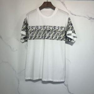 ランキング1位 2色可選  フェンディ FENDI 愛らしい春の新作 半袖Tシャツ 2020話題の商品enshopi.com sn:L5515n-3