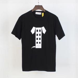 今年の春トレンド モンクレール 2色可選 MONCLER 狙える優秀アイテム 半袖Tシャツ 絶対に見逃せないenshopi.com sn:PDWbOj-3