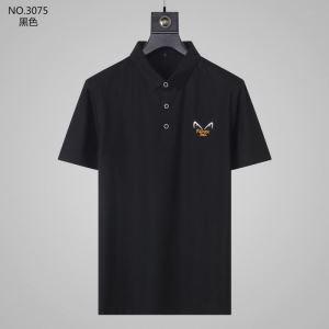2020年春夏コレクション 半袖Tシャツ 2色可選 質の高い新品 フェンディ FENDI 最先端のスタイルenshopi.com sn:G5Tvya-3