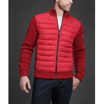 【CANADA goose コピー】2019/20AW新作 HYBRIDGE KNIT JACKET (Red)
