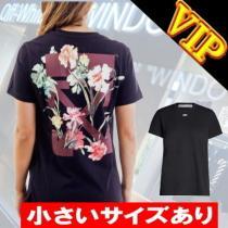 """Off-white コピーブランド   Flower  """"ARROWS""""   T-SHIRT-1"""