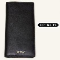 Off white スーパーコピー Continental Wallet Black 財布