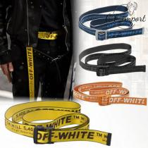 【VIP SALE!!】OFF white コピー☆ロゴ INDUSTRIALベルト