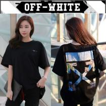 【OFF white コピー】19SS COLORED ARROWS OVER Tシャツ BLACK /EMS直送