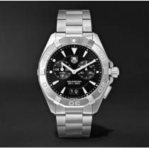 関税送料込み  TAG heuer コピー Aquaracer Alarm Quartz Steel Watch