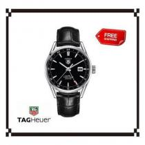 大人気!★TAG heuer スーパーコピー☆Carrera Calibre 7 Twin-Time Watch
