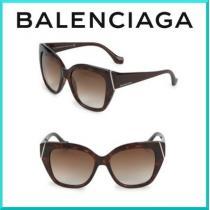 限定SALE☆ balenciaga コピー(バレンシアガ コピー) スクエア サングラス-1