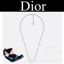dior ブランド コピー ネックレス シルバー ロゴ チェーン メンズ 2019AW CD 新作-1