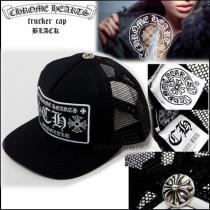 【☆定番人気☆】Chrome hearts スーパーコピー Trucker Cap Black