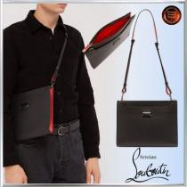 SALE!!Christian louboutin スーパーコピー∞Skypouch Loubicityレザーポーチbag