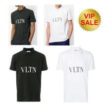 《SALE》valentino コピーブランド VLTN ポロシャツ-1