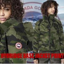 CANADAgoose ブランド コピー★新色カモ柄☆フワ軽アウターHyBridge Base Jacket-1