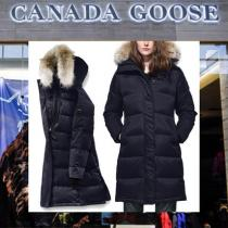 【18AW NEW】 CANADA goose コピー_women/Rowley Parka Black Label/2色