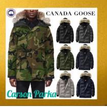 CANADA goose コピーブランド★1819AWセレブ人気Brand/カラー豊富Carson Parka-1