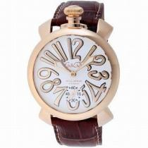 GAGA MIOLANO ガガ 腕時計 MANUALE 48MM5011.08S-BRW-1