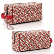 【burberry コピー】Monogram Print Beauty Case ポーチ