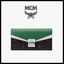 【mcm コピー】★PATRICIA VISETOS BLOCK 2段 長財布_MYL9APA34★正規品