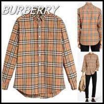 【関税込】burberry スーパーコピー バーバリー スーパーコピー■ヴィンテージ チェック シャツ-1