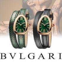 bvlgari コピー SERPENTI ダブルスパイラル アナログ腕時計-1