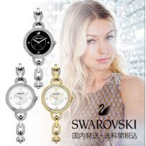 大人気!swarovski コピーブランド★Aila Bracelet Watch★クーポン付-1
