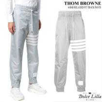 THOM browne コピーブランド 4-BAR RELAXED FIT TRACK PANTS