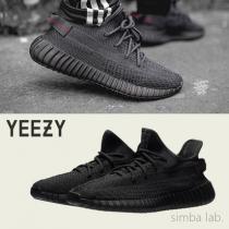 スーパーコピー adidas × Kanye Yeezy Boost 350 V2 BLACK イージーブースト-1