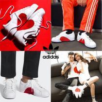 [コピー adidas Originals]◆SUPER STAR 80S◆Half Heart◆ハーフハート-1