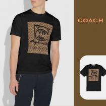 【coach コピー】◆Rexy By Guang Yu ロゴTシャツ◆Black