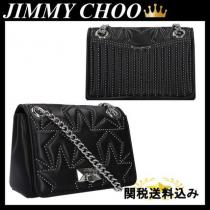 JIMMY choo スーパーコピー HELIA S SHOULDER BAG IN QUILTED NAPPA