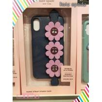 コピー kate spade★iphone cases graphic hand strap stand x & xs