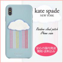 【国内発送】rainbow cloud patch iphone case セール