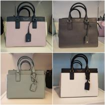 Kate sapde cameron medium satchel 2WAY サフィアーノ素材