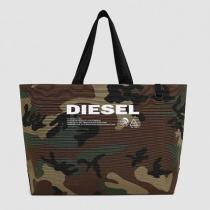 D-THISBAG SHOPPER L / GREEN CAMOUFLAGE