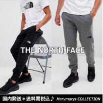 ★送料関税込★THE NORTH face ブランド コピー★ロゴジョガーパンツ黒/グレー-1
