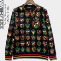 冬の爆買い定番新作  Dolce&Gabbana プルオーバーパーカー ドルチェ&ガッバーナ 2020秋冬最重要アイテムenshopi.com sn:LzCySj-1