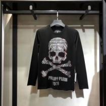 2020秋冬最安価格新品 フィリッププレイン 長袖/Tシャツ 暖かさと軽い着心地を両立させている PHILIPP PLEINenshopi.com sn:SHPDKD-1