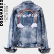 デニムジャケット永遠の定番アイテム  DSQUARED2 ディースクエアード 着こなしに素敵なエッセンスenshopi.com sn:LHfi0b-1