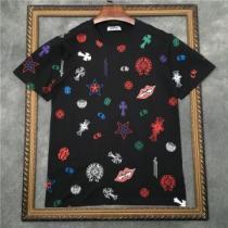 限定色がお目見え 2色可選 半袖Tシャツ クロムハーツ 人気ランキング最高 CHROME HEARTSenshopi.com sn:aieGLz-1