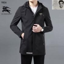 Burberry ジャケット 限定 一気にシックさをプラス メンズ バーバリー 服 コピー ブラック グレー 通勤通学 ロゴ入り 品質保証enshopi.com sn:T91XLn-1