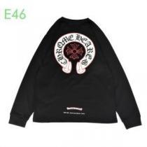 長袖Tシャツ CHROME HEARTS 限定 旬な着こなしに合わせやすい メンズ クロムハーツ コピー 通販 黒白2色 話題沸騰 完売必至enshopi.com sn:CWLT9v-1