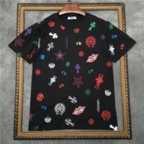 デイリースタイルを軽くなる  2色可選 半袖Tシャツ クロムハーツ 春夏の着こなし正解ポイント CHROME HEARTSenshopi.com sn:COP1bC-1
