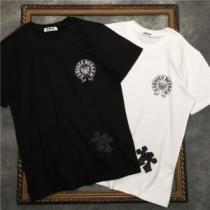 2色可選 春夏コーデにも取り入れやすい 半袖Tシャツ クロムハーツ オールシーズンの着こなし術 CHROME HEARTSenshopi.com sn:vSLvCC-1