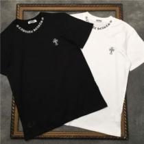 半袖Tシャツ 大人こそ似合う柄が魅力 2色可選 クロムハーツ 春夏ならではの軽やかさが楽しめる CHROME HEARTSenshopi.com sn:8DqyCa-1